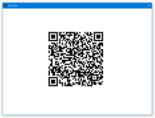 Clipboard to QR-Code