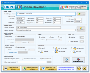 DRPU Video Reverser