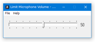 Limit Microphone Volume