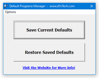 Default Programs Manager
