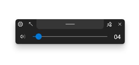 ModernFlyouts スクリーンショット - k本的に無料ソフト・フリーソフト