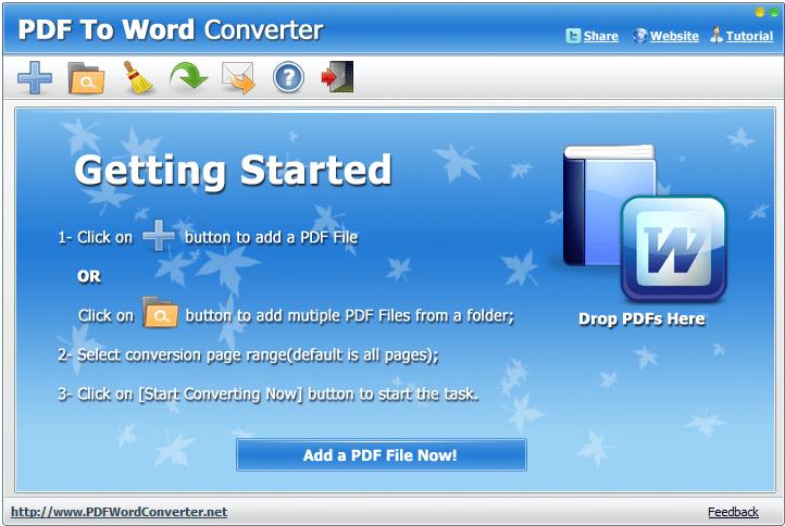 pdf to word converter tool